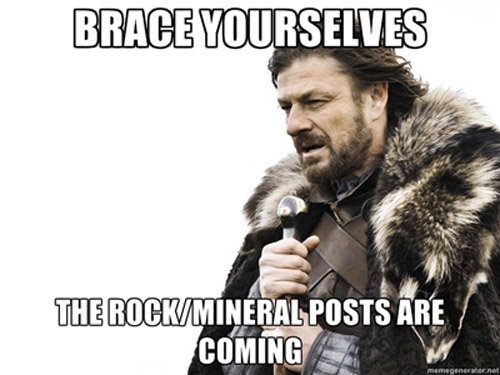 Game of Thrones Meme for Minerals
