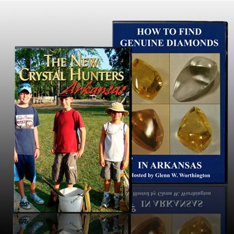 DVD set Find your own Diamonds in Arkansas