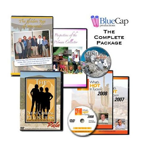 Complete Blue Cap Productions DVD Set