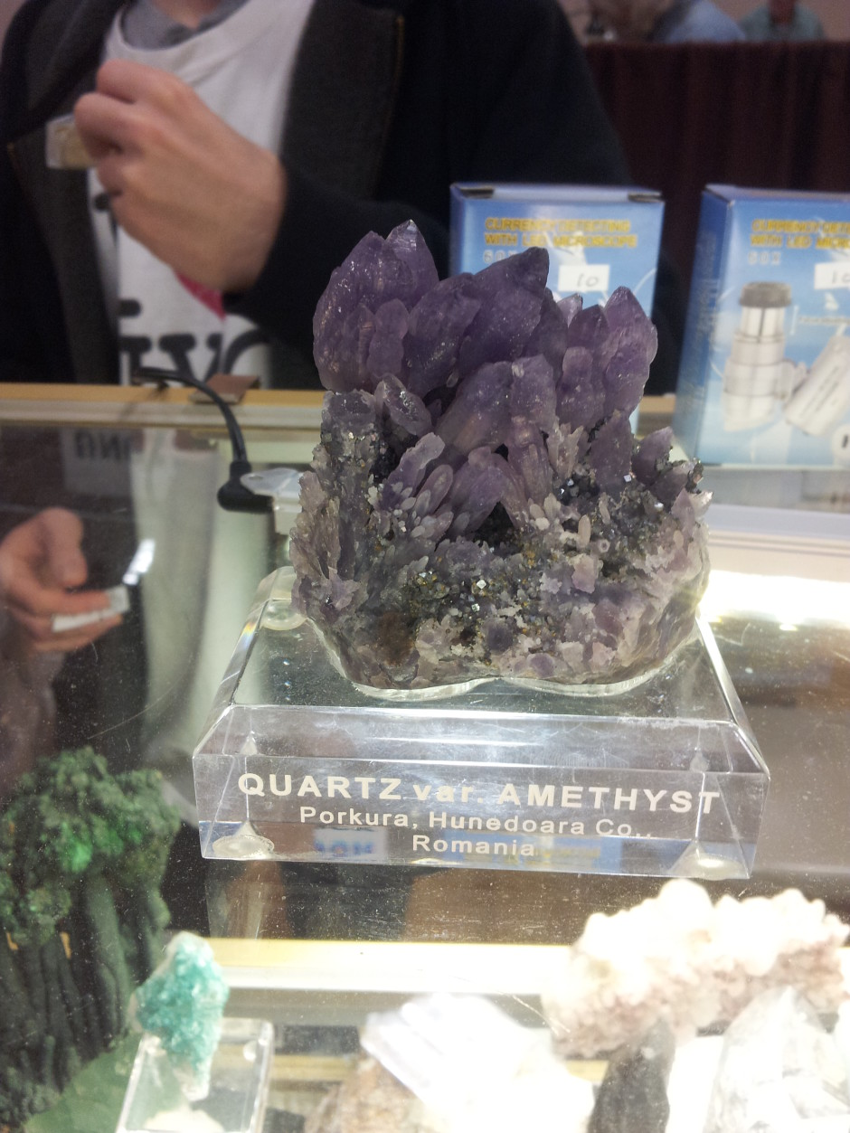 Purple Amethyst Crystals from Romania
