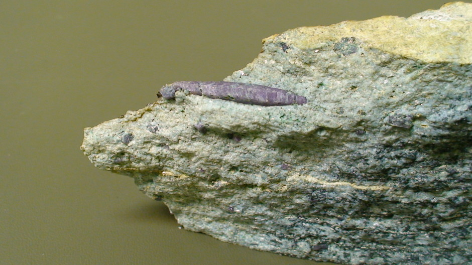 1 Inch Ruby Crystal in matrix from Cascade Canyon.