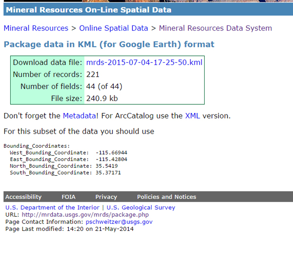 MRDS-Downloading-Google-Earth-Data