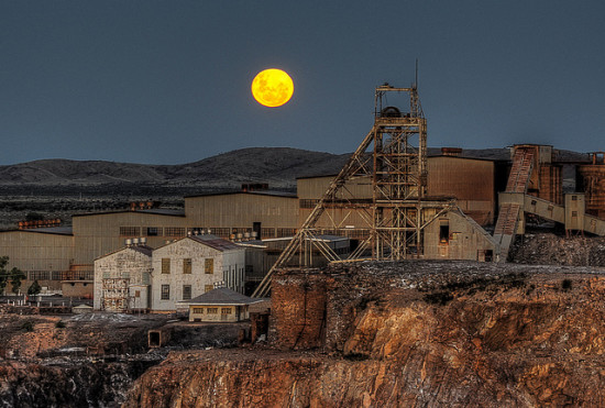 #2 Shaft, North Mine, Broken Hill (photo © Rod Wilkinson/flickr.com)