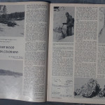 article in 1967 Gems and Minerals about collecting Petrified wood in Colorado