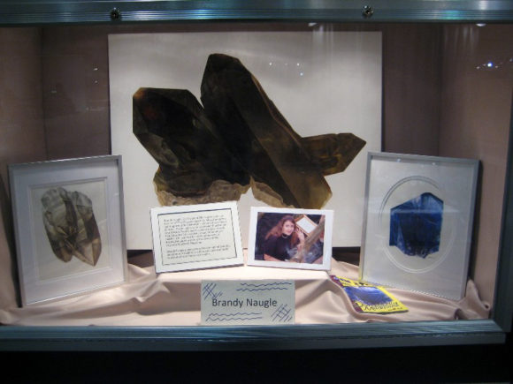 Display Case Featuring Artwork - Brandy Naugle