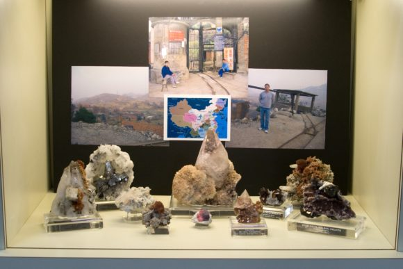 2009 Display Case from the Gail and Jim Spann Collection