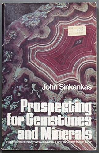 Book cover of Prospecting for Gemstones and Minerals