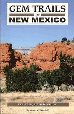 Gem Trails of New Mexico State Book Cover