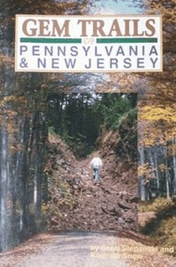 Gem Trails of Pennsylvania and New Jersey State Book Cover