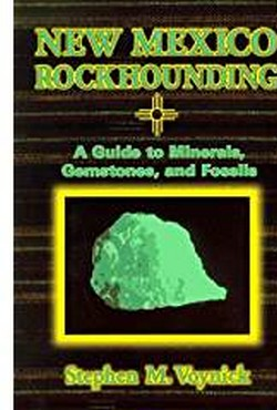 New Mexico Rockhounding book cover
