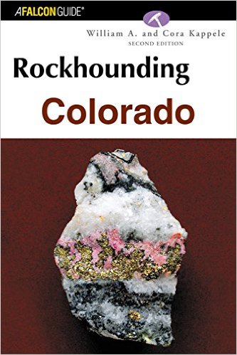 Rockhounding Colorado State Book Cover