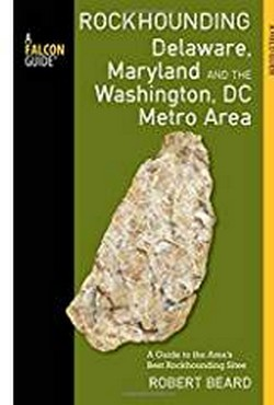 Rockhounding Maryland Book Cover