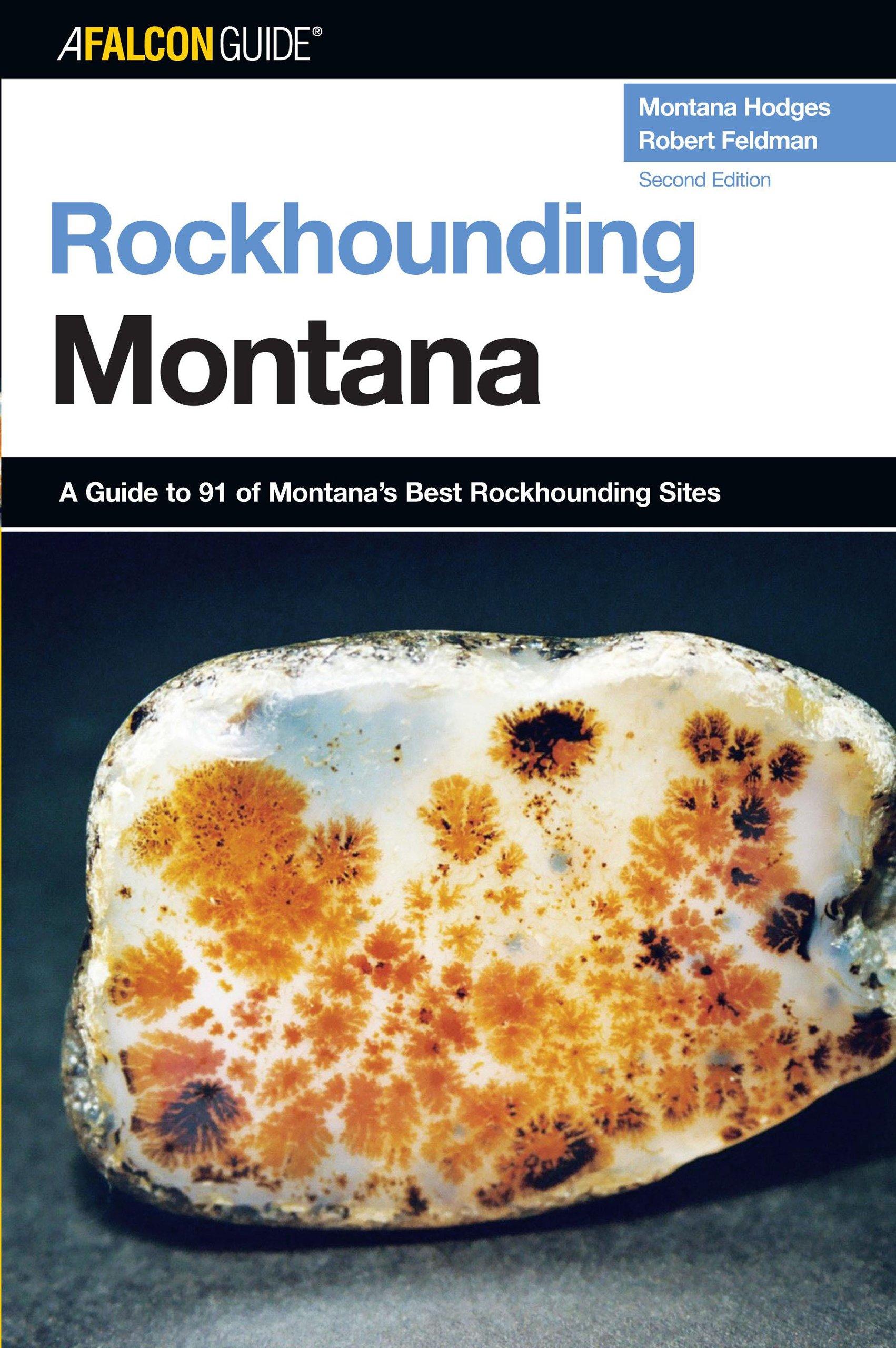 Rockhounding Montana Book Cover