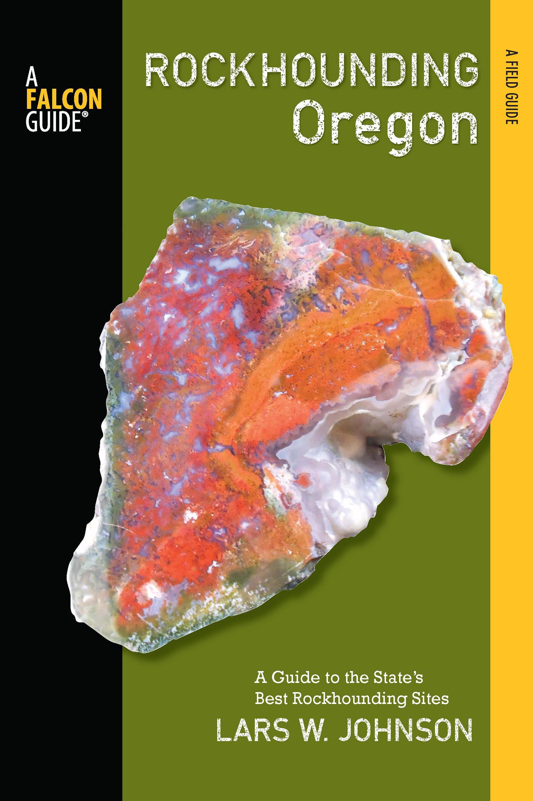 Rockhounding Oregon Book Cover