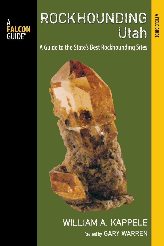 Rockhounding Utah State Book Cover