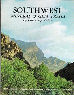 Southwest mineral & gem trails book cover
