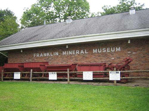 Franklin Mining Museum New Jersey